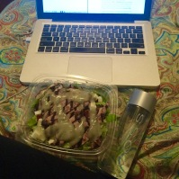 Artsy Salad and Voss