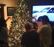 Family decorating