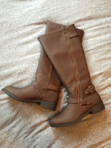 Cute new boots!