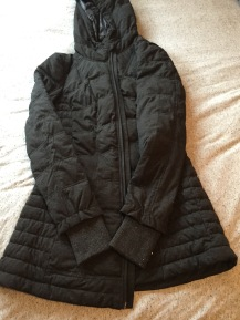 Thanks mom! New jacket from Nordstrom.