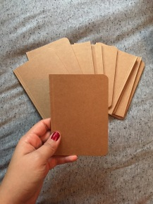 Adorable little notebooks for my notes for clinicals!